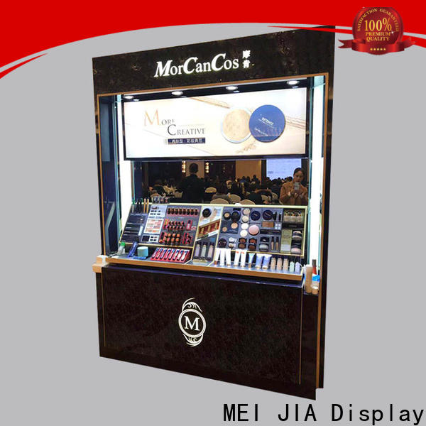 MEI JIA Display Custom retail makeup display stand supply for exclusive shop