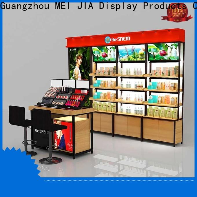 Top beauty display units table manufacturers for shoppe
