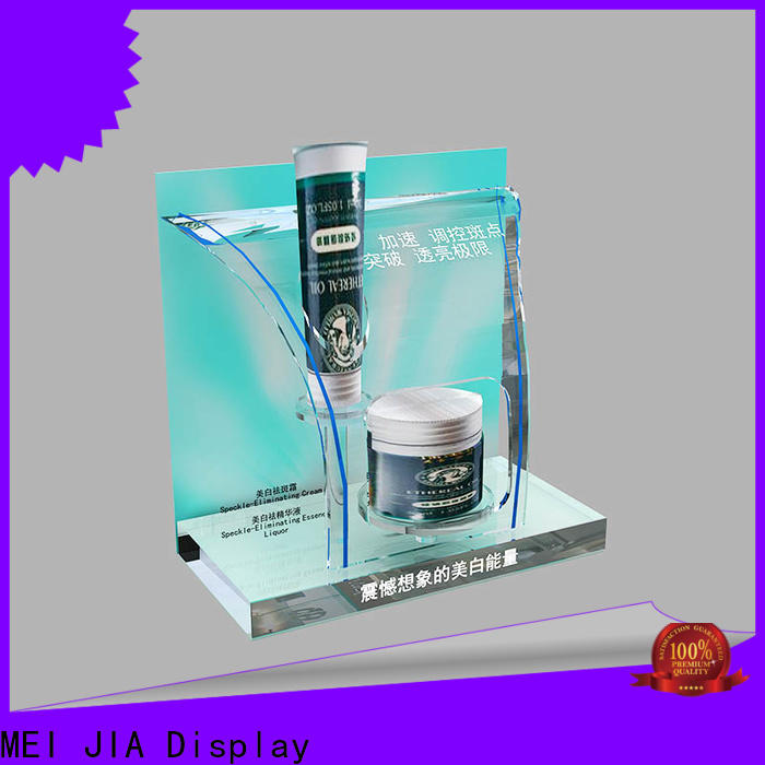 Custom retail makeup display stand shelves factory for store