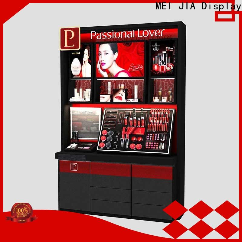 MEI JIA Display artdeco cosmetic display cabinet for business for counter