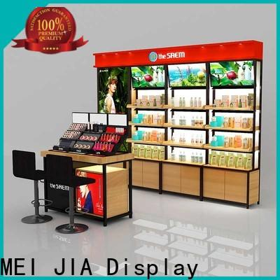 Latest acrylic makeup display cabinet supply for counter
