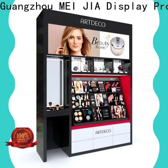 High-quality acrylic makeup display shelves factory for shop