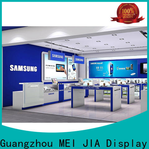 Custom mobile display counter desgin company for store