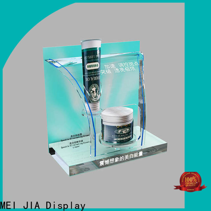 MEI JIA Display shelves makeup retail display company for shop