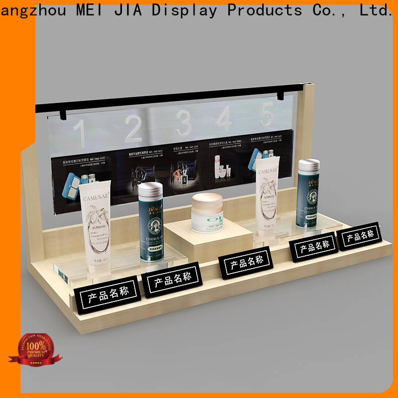 MEI JIA Display Latest makeup retail display for business for exclusive shop