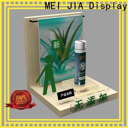 MEI JIA Display wall beauty display units manufacturers for store
