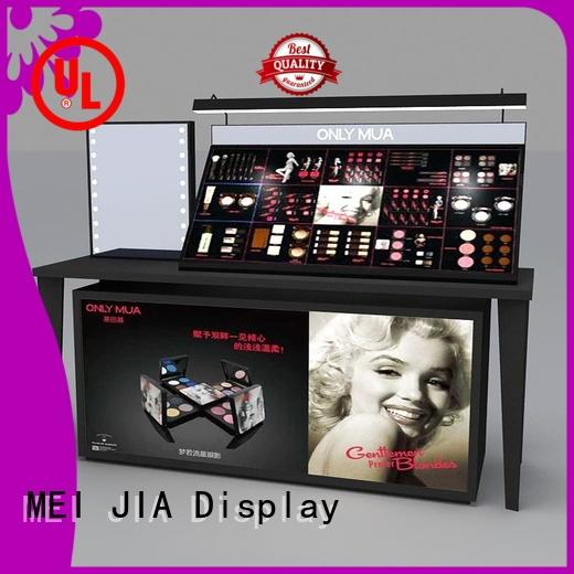 MEI JIA Display shelf cosmetic display cabinet for business for shoppe