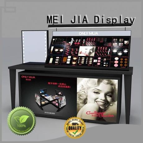 MEI JIA Display brand makeup display stand factory for store
