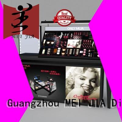 MEI JIA Display cosmetic makeup display cabinet for sale for exclusive shop
