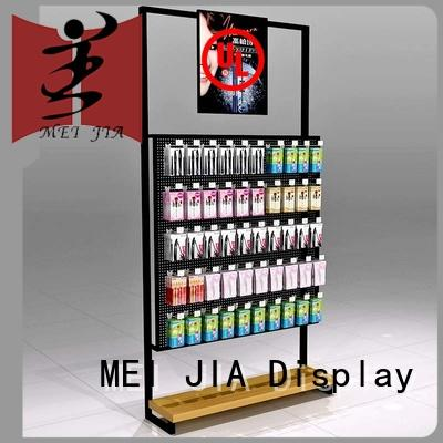MEI JIA Display attract attention makeup display stand for brand for shoppe