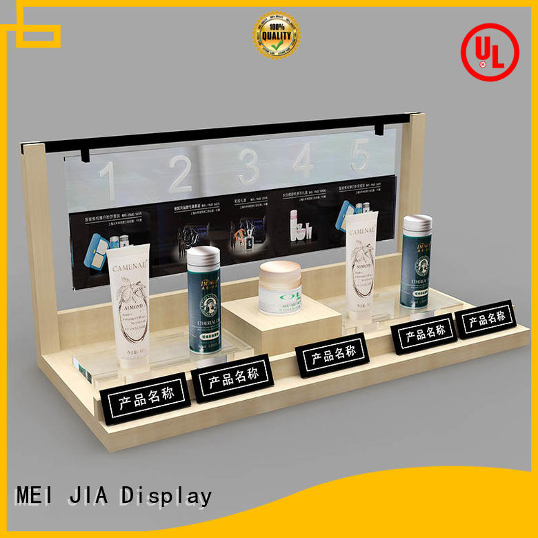 MEI JIA Display Best beauty display stands suppliers for shoppe