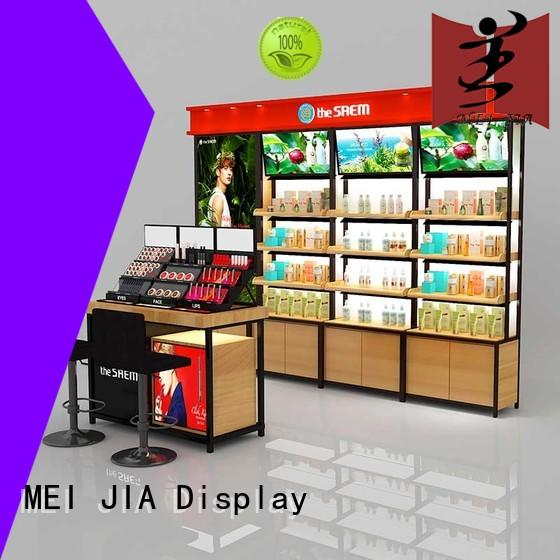 MEI JIA Display wood beauty display stands suppliers for counter