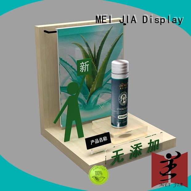 MEI JIA Display popular makeup display cabinet for brand for showroom