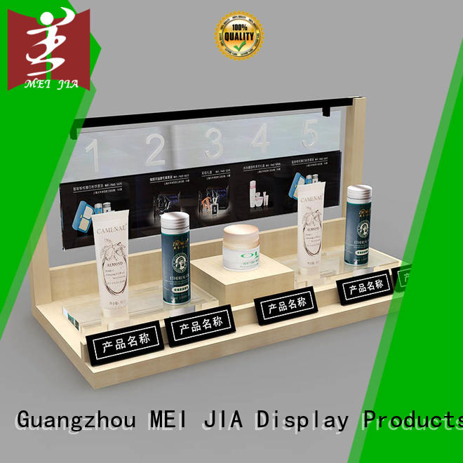 MEI JIA Display hook cosmetic product display manufacturer for shoppe