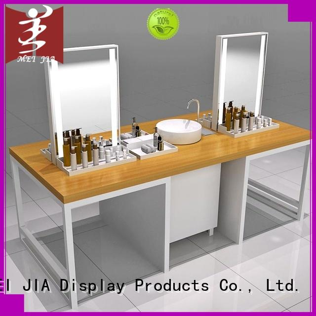MEI JIA Display wall makeup retail display for sale for counter