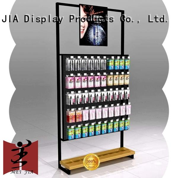 MEI JIA Display body care cosmetics display shelves great design for counter