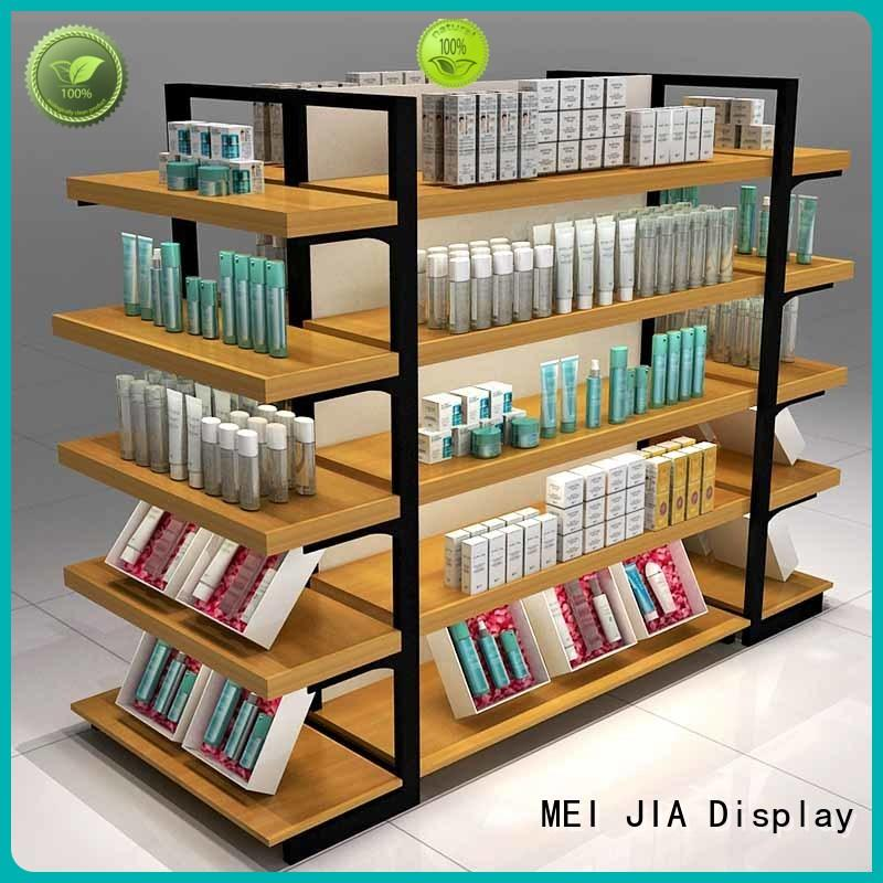 MEI JIA Display retail beauty display stands manufacturers for shop