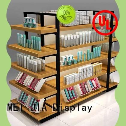 New beauty display stands holder company for showroom