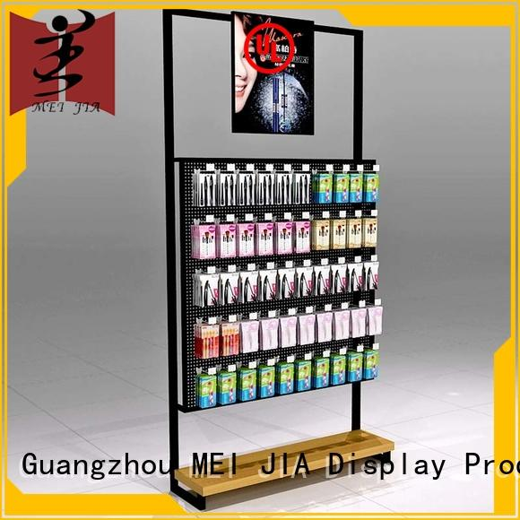 customized beauty display stands makeup manufacturer for counter