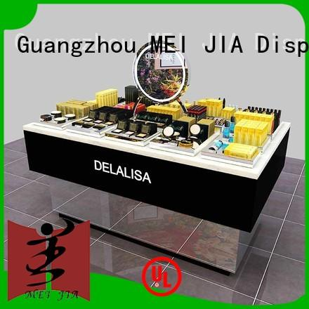 MEI JIA Display care acrylic cosmetic display stand holder for shoppe