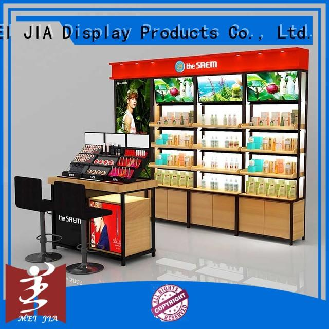popular cosmetic showcase holder for store