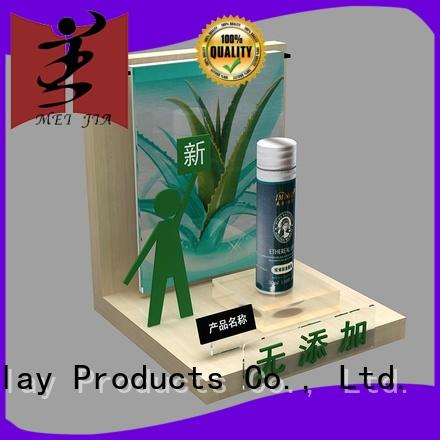 body care custom acrylic display stands holder for shop