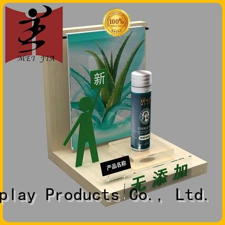 MEI JIA Display customized beauty display units holder for shoppe
