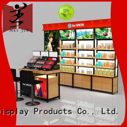 brand cosmetic display counter care for exclusive shop MEI JIA Display