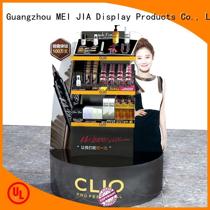 MEI JIA Display Wholesale makeup display stand factory for exclusive shop