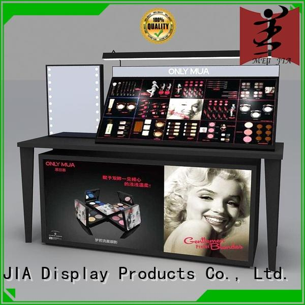 popular acrylic cosmetic display stand showcase cabinet for store