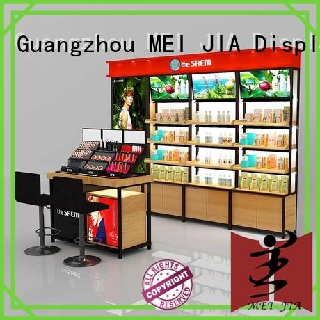 makeup acrylic makeup holder cosmetic for store MEI JIA Display