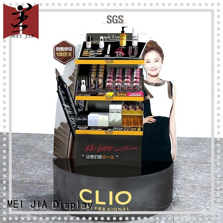 MEI JIA Display table cosmetic product display manufacturer for showroom