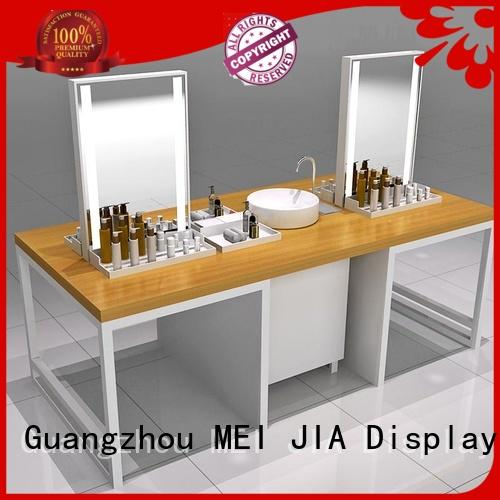 MEI JIA Display care acrylic makeup holder company for showroom