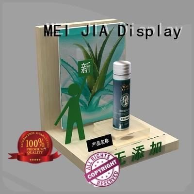 MEI JIA Display Custom beauty display stands suppliers for shop