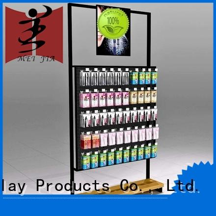 shelves cosmetic display supplier for brand for exclusive shop MEI JIA Display