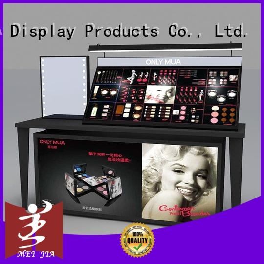 MEI JIA Display fashional makeup store display cabinet for shoppe
