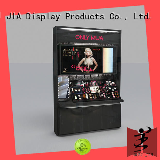 cosmetic showcase design out for shoppe MEI JIA Display