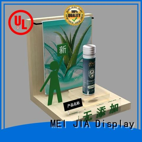 MEI JIA Display skin cosmetics acrylic display for business for store