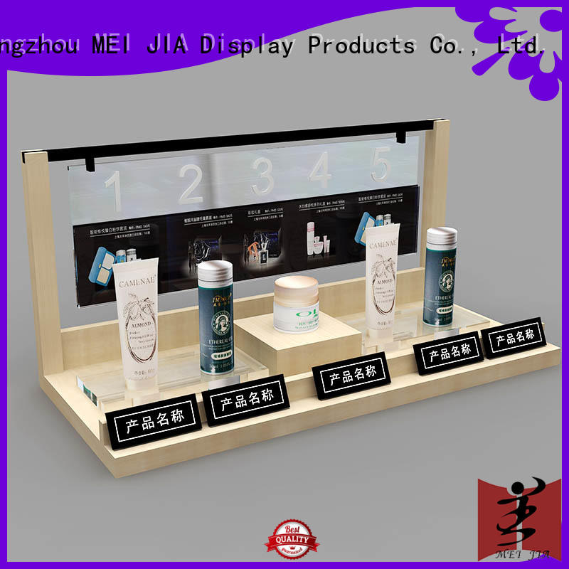 MEI JIA Display cosmetic acrylic makeup holder supply for exclusive shop