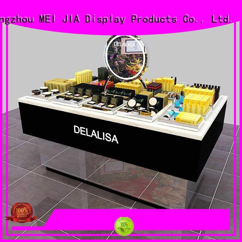 MEI JIA Display Wholesale retail makeup display stand supply for store