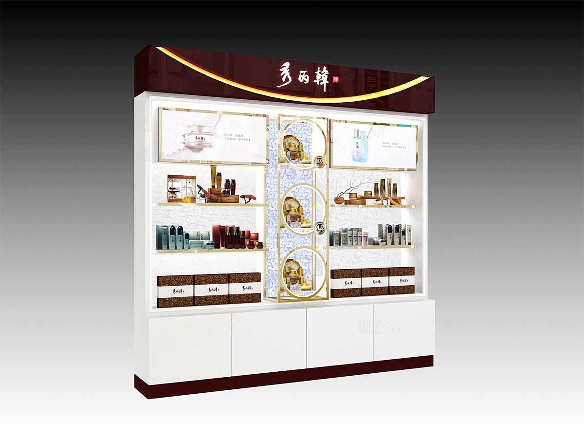 fashional cosmetic display cabinet skin for brand for showroom-3