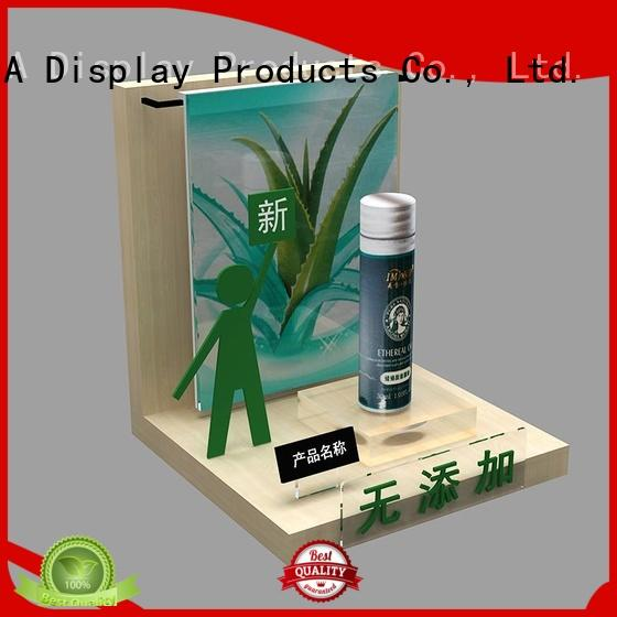 MEI JIA Display brand acrylic cosmetic display stand company for exclusive shop