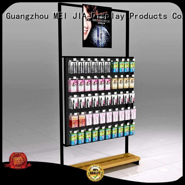 MEI JIA Display Latest makeup display stand factory for shop