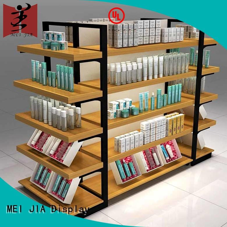 counter acrylic makeup display stand for showroom MEI JIA Display