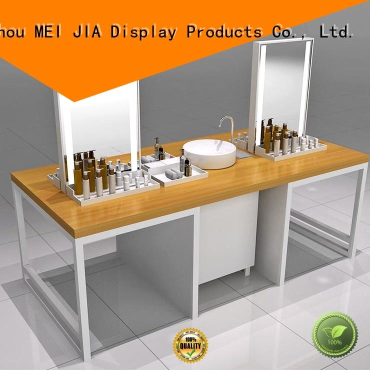 MEI JIA Display Latest beauty display stands suppliers for exclusive shop
