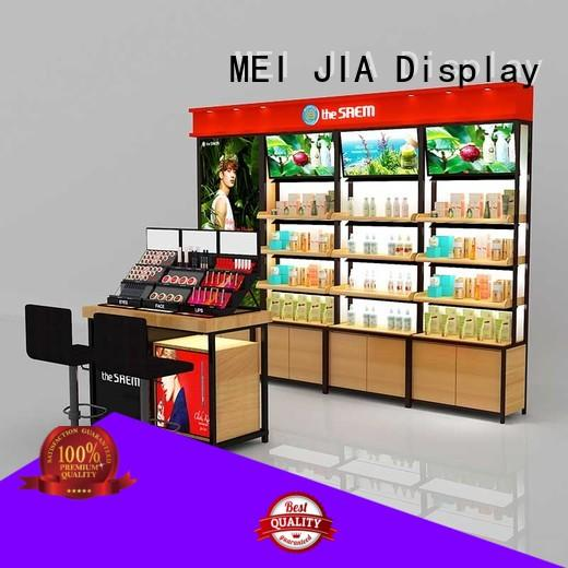 MEI JIA Display New cosmetic display cabinet factory for counter