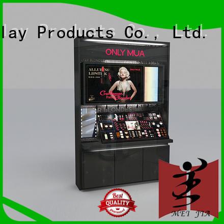 table makeup retail display holder for showroom MEI JIA Display