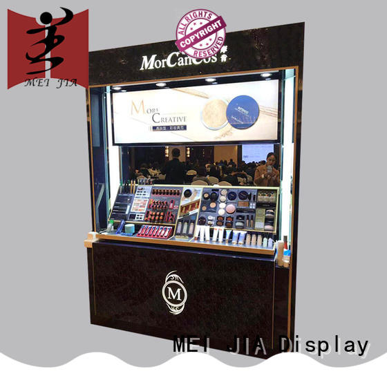 customized beauty display stands hook for store MEI JIA Display