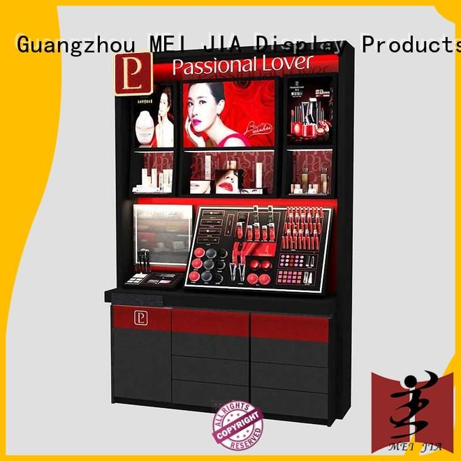 MEI JIA Display cosmetic beauty display stands customized for counter