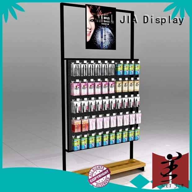 MEI JIA Display customized cosmetics display shelves manufacturer for store